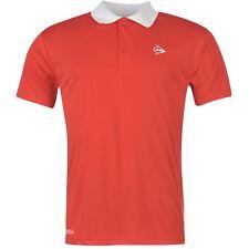 DUNLOP Herren Polo Shirt Polohemd T-Shirt Tennis Golf Freizeit Sport S M L XL