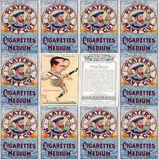 I giocatori di calcio carte sigaretta 1927 Mac Lettore CARICATURA-Vari