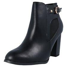 Wallis AALIYAH Damen Stiefeletten Boots Winter Herbst Schuhe Frauen schwarz Neu