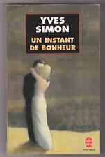 Un instant de bonheur Yves SIMON