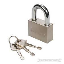 Acero padlock-short o larga grillete Alta Seguridad Para Puerta valla Bicicleta Pad Cerraduras