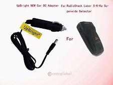 NEW Car Auto Adapter Power Supply For RadioShack Laser X-K-Ka Superwide Detector