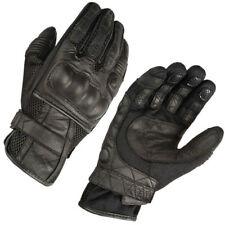 Akito Breeze Short Summer Motorbike Motorcycle Gloves Touring Black XS-3XL