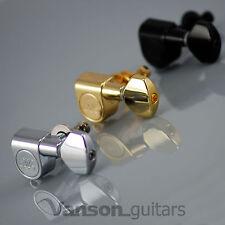 6 X Nueva Wilkinson wj07 Ez Lok sintonizadores Para Stratocaster Telecaster Strat Tele ® *