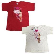 Maglietta Bambina Violetta, T-shirt Maniche Corte Disney *05449
