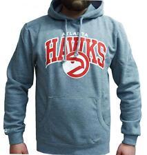 Mitchell & Ness NBA Atlanta Hawks Team Arch Hoody Hoodie Sweater Herren Mens