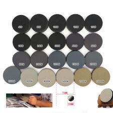 "75mm 3"" Hook and Loop Sanding Disc 60-3000 Grit Wet or Dry Sandpaper Pads 10pcs"