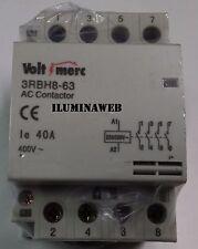Contactor 4 Polos NA 40A 400v 230v, VoltiMerc, Interruptor automatico