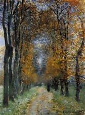 The Avenue, 1878 - Claude Monet  Handmade Oil Painting Repro