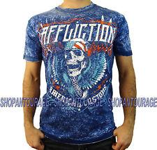 Affliction AC Thunderclap A12830 New Short Sleeve Reversible T-shirt for Men