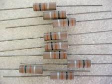 5 résistances carbone 150R 1W Vitrohm
