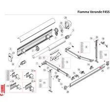 Ricambi per Veranda Tendalino Fiamma F45S Parti di Ricambio Camper   CAS