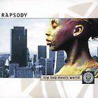 """RAPSODY  """"HIP HOP MEETS WORLD""""   CD"""