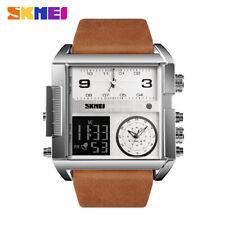 skmei men watch led digital quartz alarm auto week waterproof wristwatch 1391 3