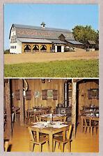 POSTCARD:  LA ROCHE A VEILLON RESTAURANT - SAINT-JEAN PORT-JOLI, QUEBEC, CANADA