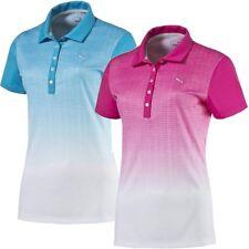 1a03875d66a Puma Women s Texture Fade Golf Polo Shirt