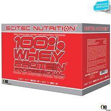 Scitec 100% Whey Protein Professional 30 Buste Monodose da 30 gr. Proteine Siero