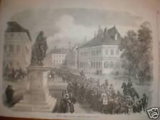 France French Prisoners of War Place Turenne Sedan 1870