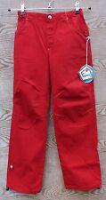 E9 kinder-kletterhose MONTONE enfants, rouge, gr. 104/110