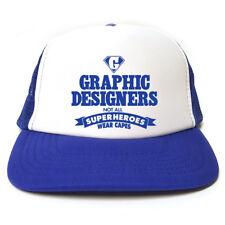 Graphic Designer-non tutti i Superheroes indossare Mantelli Cappello-Divertente  Camionista Cap 10485d57075b