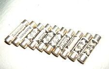10 X 5A STANDARD DOMESTIC TYPE PLUG SIZE 5 AMP UK MADE 240V BUSSMANN BS1362 FUSE