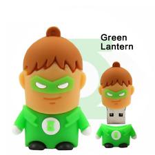 USB Stick Green Latern Super Heros  3D  4GB, 8GB, 16GB,32GB, 64GB, Muster