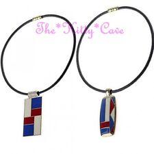 Rojo Blanco y azul colores en Bloque Geométrico Formas Esmalte Mondrian Cuero