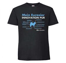 Eurasier Unisex T-Shirt Innovation Hundemotiv Eurasian Spitz Spitze Wolfsspitz