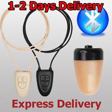 New Spy Earpiece hidden CIA FBI bluetooth loop ear piece bug micro phone