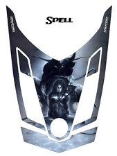 SKI-DOO REV XR RENEGADE ADRENALINE SNOWMOBILE HOOD GRAPHICS KIT CREATORX SPELL