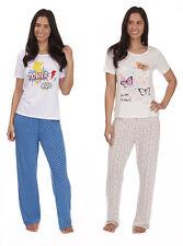 Forever Dreaming Ladies Long Jersey Pyjama Set