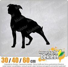 American stafford perros raza chf0785 en 3 tamaños JDM luneta trasera pegatinas