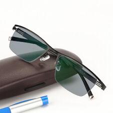 Mens Transition Photochromic UV Reading Glasses Readers Sunglasses +1.0~+3.5