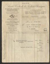 """PARIS (V°) PRODUIT CHIMIQUE & INSTRUMENTS de CHIMIE """"Ancien Ets. ROUSSEAU"""" 1933"""