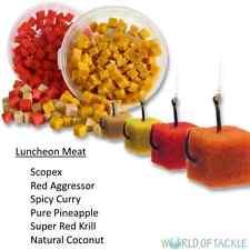 BAG`EM Pork Luncheon Meat 6 Flavours Coarse Match Fishing Bait 8mm Cubes