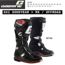 Stivali enduro cross moto GAERNE GX1 GOODYEAR OFFROAD black nero 2184001