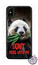 Panda Bear Don't Mess Custom Phone Case Cover For iPhone Samsung Google LG etc