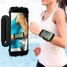 AU 180° Rotating Sports GYM Running Jogging Wrist Band Bag Case Phone Holder New