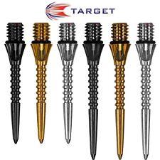 Target | Titanium Pro Grooved Conversion Points | 26mm | 30mm | Soft Tip Darts