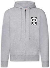 Panda I Zipper Hoodie Bear Comic Look Cutie Cute Bär