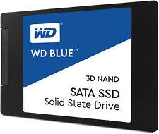 interne SSD / Festplatte WD Blue 2,5 Zoll 6,3cm 250 500 1TB SATAIII 3D NAND 7mm