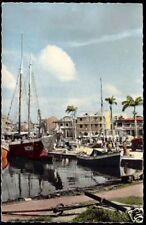 Guadeloupe F.W.I., Pointe-a-Pitre, Voilier dans le Port