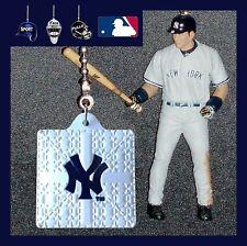 MLB NEW YORK YANKEES FIGURE & BATTING HELMET OR LOGO BASE CEILING FAN PULLS