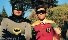 Batman 1966 Canvas Wall Art Film Movie Poster Print Adam West Burt Ward