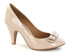 SALE Barricci F9530 Ladies Beige Patent Court Shoes