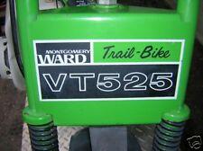 minibike mini bike decals wards sticker TRAIL BIKE