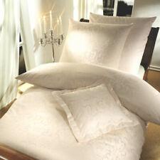 Curt Bauer Mako-Brokat-Damast Bettwäsche Florenz 2680-0639 Farbe beige Baumwolle