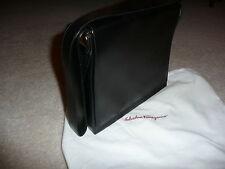 *** Salvatore Ferragamo  - Black Leather Handbag – Limited Use (EA-H-1004)