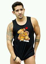 Gay Bear T Shirt 100% Cotton, Basic Tee, Bare Beef,  Bear Hug Tank Top.