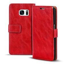 Handy Tasche Samsung Galaxy S7 Flip Cover Case Schutz Hülle Wallet Premium Etui